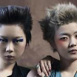 Saitai, P. Stafford, SUZI projektowanie fryzur, ekstrawagancka, awangardowa, futurystyczna