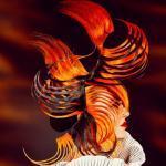 Kolekcja fryzur AVANT GARDE, WILLIAM GRAY, AJC, harmonijne, dopinki, konstrukcje, awangarda, pasemka, styliści, projektanci, FRK.03, wizualizacja, projektowanie, SUZI