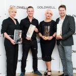 zwycięzcy w kategorii creative - konkurs trendów Goldwell Color Zoom Challenge 2015