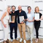 zwycięzcy w kategorii partner - konkurs trendów Goldwell Color Zoom Challenge 2015